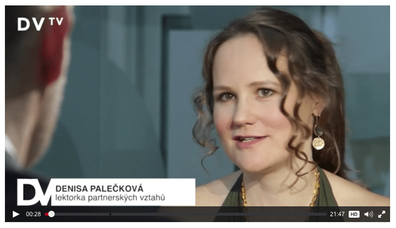 sexem k lepšímu vztahu - rozhovor pro DVTV